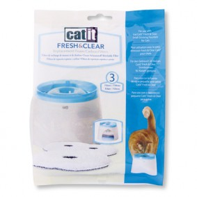 Catit Ersatz-Filtereinsatz für Catit Fresh & Clear Trinkbrunnen