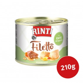 Rinti Hunde-Nassfutter Filetto Huhn & Ente in Sauce