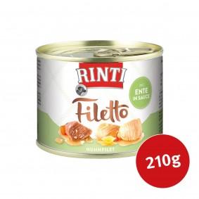 Rinti Hunde-Nassfutter Filetto Huhn & Ente in Sauce