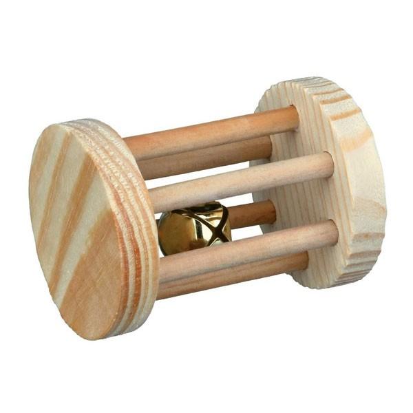 Trixie Spielrolle für Kleintiere aus Holz ø 5cmx7cm
