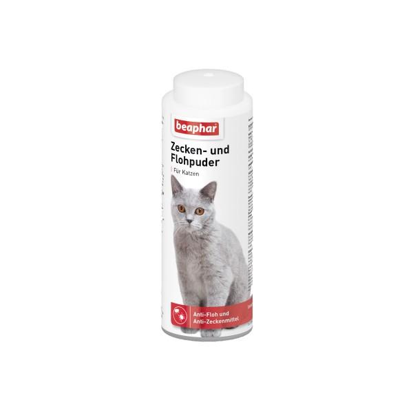 beaphar Zecken und Flohpuder für Katzen 100g