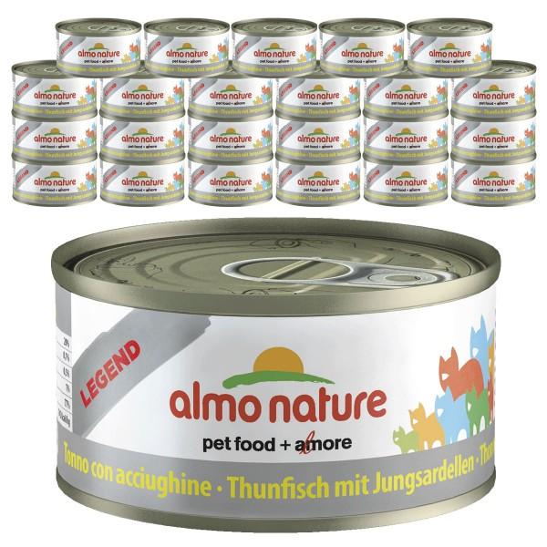Almo Nature Legend Katzenfutter 24x70gThunfisch & Sardellen