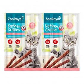 ZooRoyal grilované tyčinky pro kočky s lososem