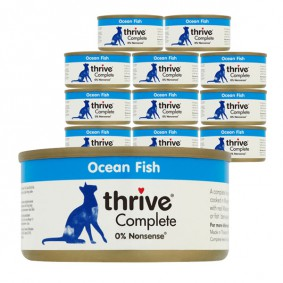 thrive Cat Complete Seefisch 12x75g