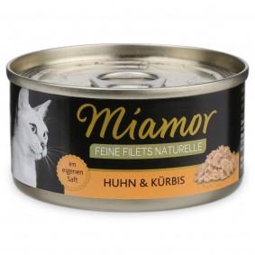 Miamor Katzenfutter Feine Filets Naturelle Huhn und Kürbis