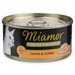 Miamor Feine Filets Naturelle Huhn und Kürbis