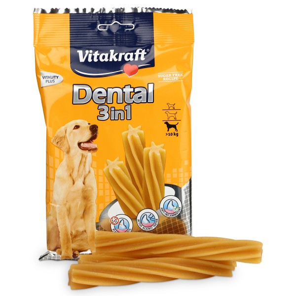 Vitakraft Hundesnack Dental 3in1 Small 3 Stk.