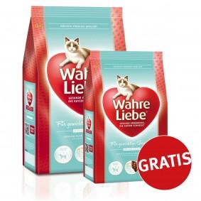 Wahre Liebe Katzenfutter Für gewichtige Genießer 4kg + 400g GRATIS