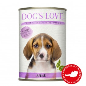 Dog's Love Junior Lamm mit Spinat & Kamille