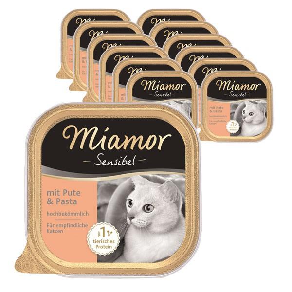 Miamor Sensibel Pute & Pasta 16x100g