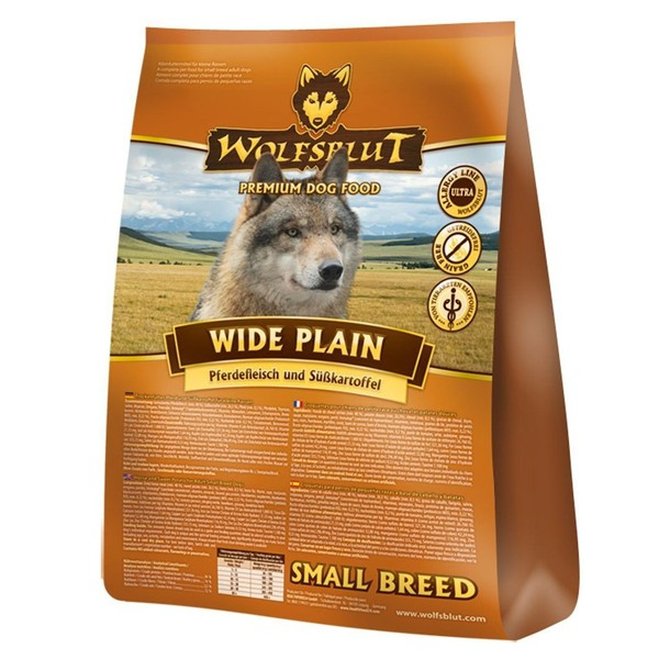 Wolfsblut Wide Plain Small Breed Pferd & Süßkartoffel