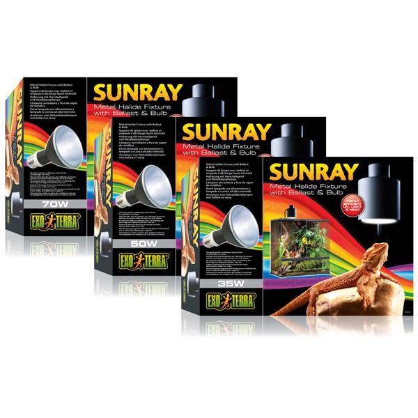 Exo Terra SunRay Beleuchtungsset