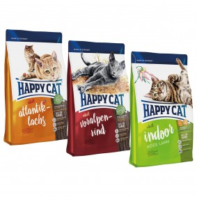 Happy Cat Mixpaket 3x300g