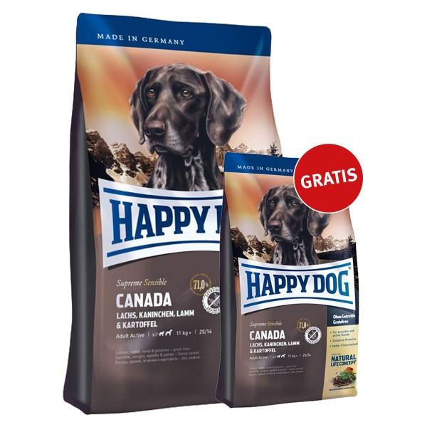 Happy Dog Canada 4kg + 1kg gratis