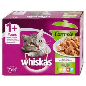 Whiskas Casserole mixovaný výběr v želé