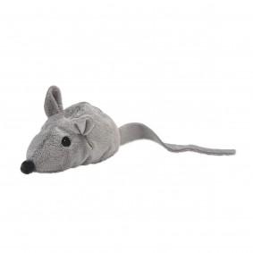 Aumüller hračka pro kočky, myš Baldi, šedá
