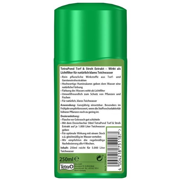 Tetra Pond Torf & Stroh Extrakt Wasserpflege 250 ml