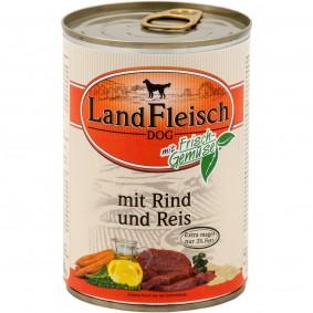 Landfleisch Dog Pur s hovězím masem a rýží