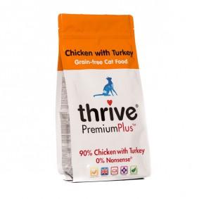 thrive Cat PremiumPlus 90% Huhn & Truthahn 1,5kg