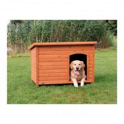 Trixie Flachdach Hundehütte Natura XL 116x82x79cm