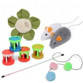 ZooRoyal Katzenspielzeug 4er-Paket