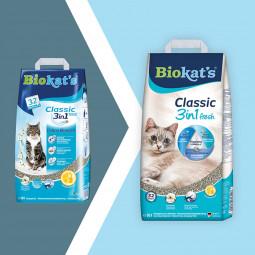 Biokat's Classic Fresh 3in1 Cotton Blossom Papier