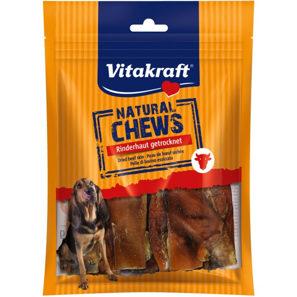 Vitakraft Natural Chews Rinderhaut getrocknet 200g