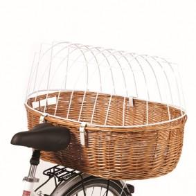Schipkau Klettwitz Angebote Aumüller Fahrrad-Tierkorb - Maße: 70x46x18/40 cm