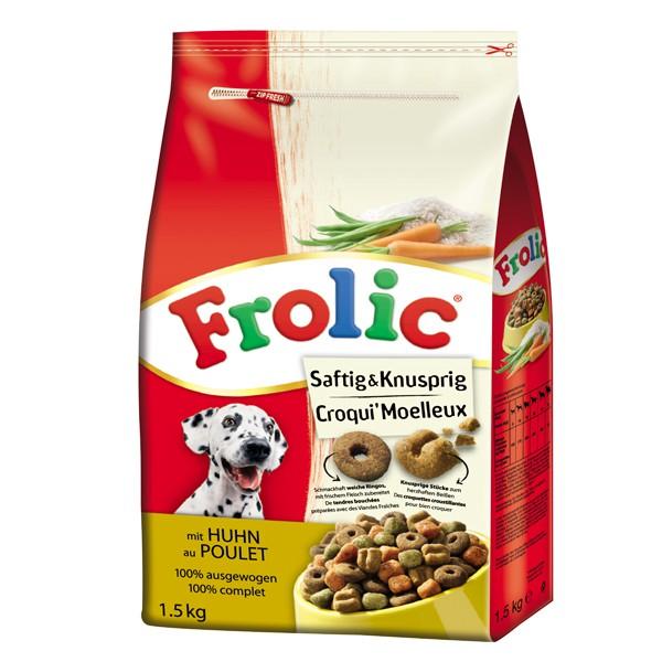 Frolic Trockenfutter Saftig & Knusprig 1,5kg