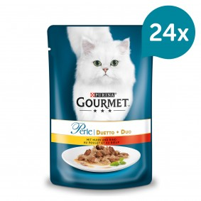 Gourmet Perle Duetto Huhn & Rind