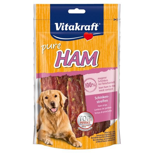 Vitakraft Hundesnack pure Ham Schinkenstreifen 80g