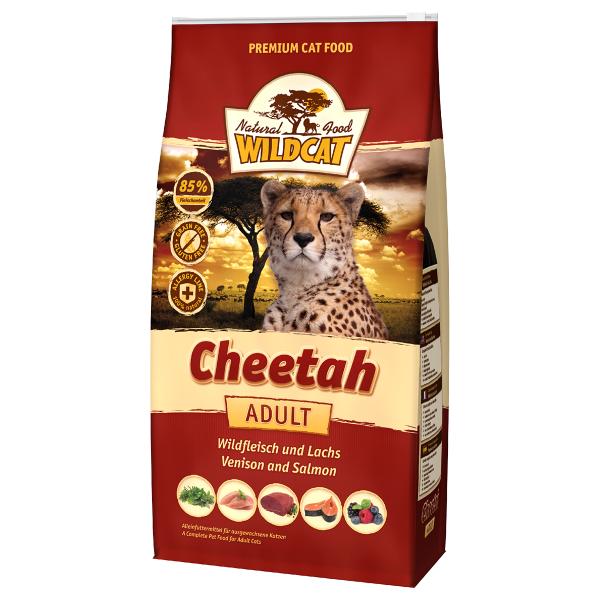 Wildcat Cheetah se zvěřinou