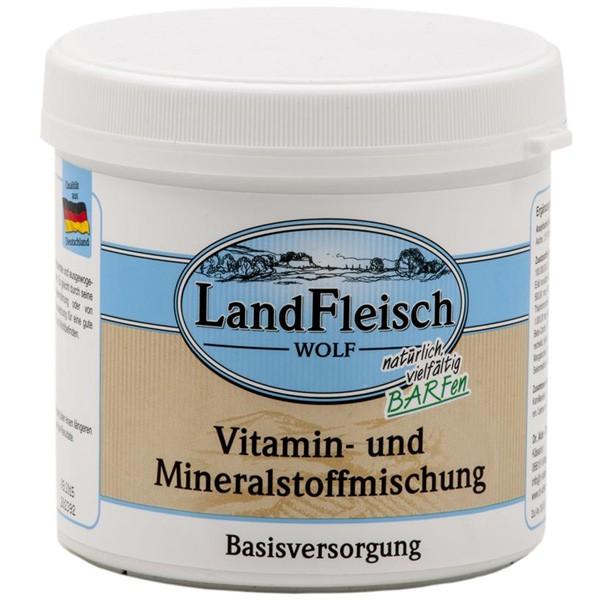 Landfleisch Dog Wolf Vitamin,-Mineralmischung 400g