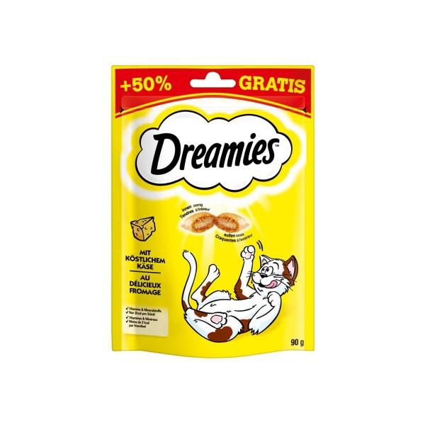 Dreamies mit Käse 60g + 50%