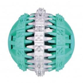 Dentafun Balle à mâcher en caoutchouc naturel Mintfresh ø 7,5 cm