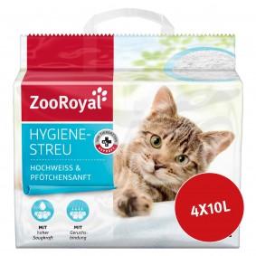 ZooRoyal Hygienestreu hochweiss & Pfötchensanft 40l