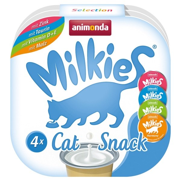 Haustier: animonda Milkies Adult Selection 4 Cups 4x15g