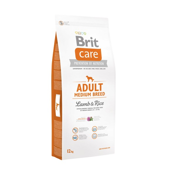 Brit Care Dog Medium Breed Lamb & Rice