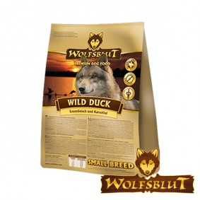 Wolfsblut Wild Duck Small Breed mit Ente & Kartoffeln