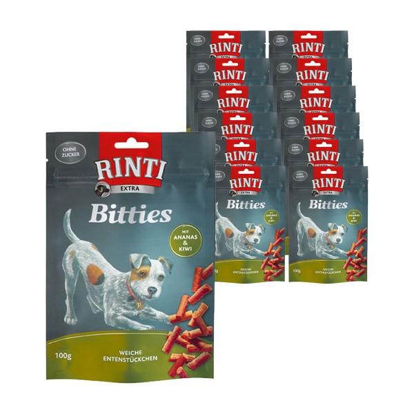 Rinti Extra Hunde-snack Bitties Ananas plus Kiwi 12x100g