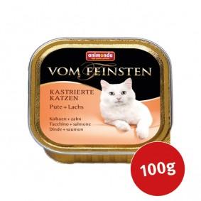 Animonda Vom Feinsten für kastrierte Katzen Pute und Lachs 100g