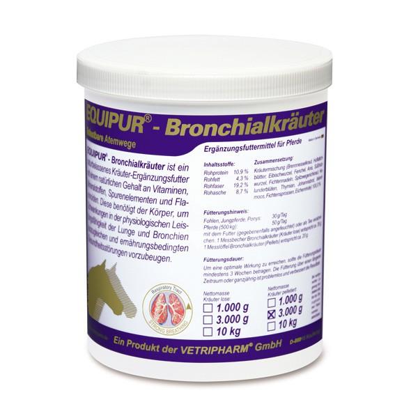 Vetripharm EQUIPUR - Bronchialkräuter 1kg