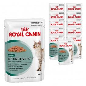 Royal Canin Katzenfutter Instinctive +7 in Soße 12x85g