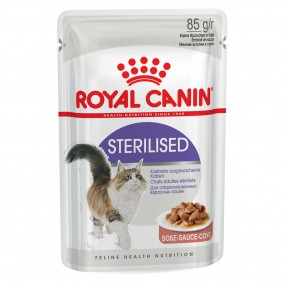 Royal Canin Katzenfutter Gravy Sterilised in Soße