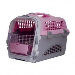 Catit Transportbox Pet Cargo Cabrio - rosa-grau