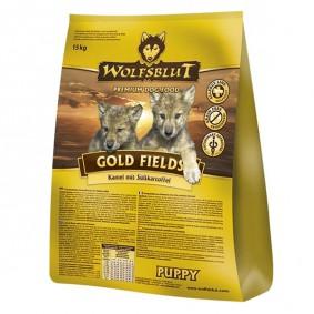 Wolfsblut Gold Fields Puppy Kamel, Strauß & Süßkartoffel