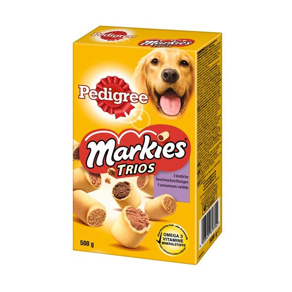Pedigree Markies Trios 500g