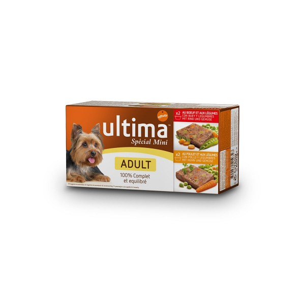 Ultima Dog Nassfutter Multipack Adult 4x150g