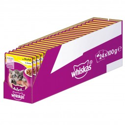 Whiskas Junior mit Huhn in Gelee 24x100g