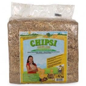 Chipsi podestýlka pro hlodavce Farmland, přírodní sláma